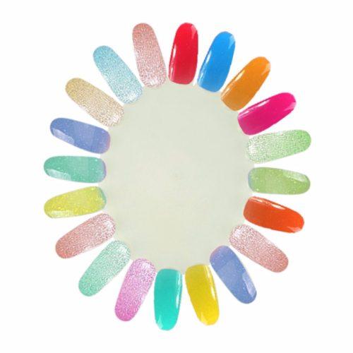 Дисплей ромашка типсы для демонстрации цвета лака