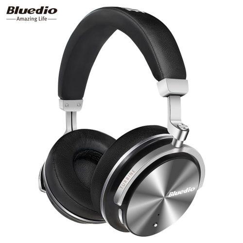 Беспроводные накладные наушники гарнитура с микрофоном Bluedio T4S