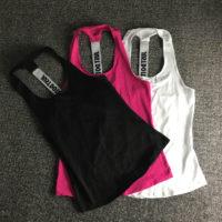 Спортивная женская майка для тренировок и фитнеса