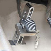 Противоугонное механическое устройство для автомобиля на педали