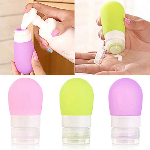 Дорожные силиконовые бутылочки для шампуня для путешествий