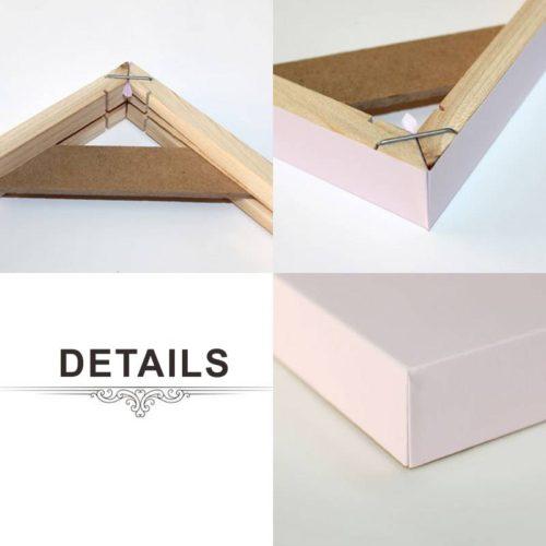 Деревянная рамка для холста (разные размеры)