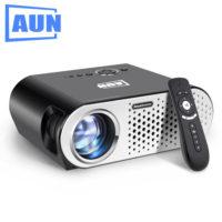 AUN T90 Цифровой светодиодный проектор для домашнего кинотеатра 3200 люмен 1280*768