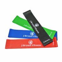 J Bryant Латексная эластичная лента резинка для фитнеса