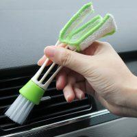 Щетка для очистки воздуховодов в автомобиле