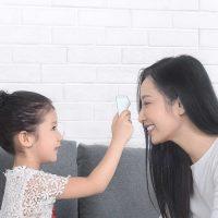 Инфракрасный бесконтактный цифровой LED термометр Xiaomi ihealth thermometer