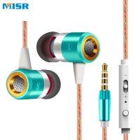 MISR A8 вакуумные стерео наушники вкладыши гарнитура с микрофоном