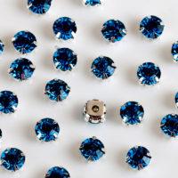 Пришивные стеклянные стразы 200 шт. 4 мм