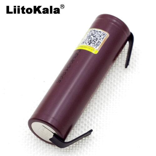 Liitokala Аккумуляторы LG HG2 3000 mAh 18650 с приваренными выводами