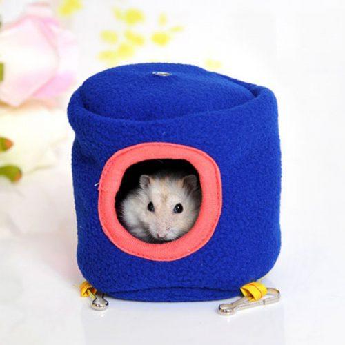Игрушечный домик в клетку для хомяков и других грызунов