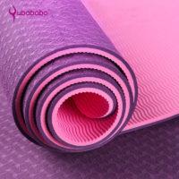 Спортивный гимнастический нескользящий коврик 6 мм для фитнеса, йоги
