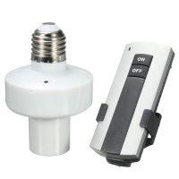 Патрон E27 для лампы накаливания с пультом ДУ