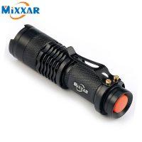 Mixxar ZK93 CREE Q5 Карманный светодиодный LED фонарик аккумуляторный ручной водонепроницаемый масштабируемый