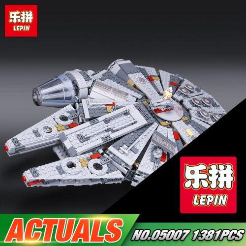 Конструктор LEPIN 05007 Star Wars Тысячелетний сокол