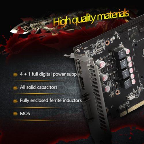 Видеокарта Yeston Radeon RX 460 GPU 4GB GDDR5 128 bit