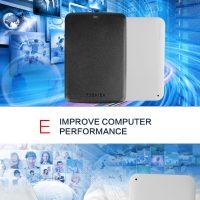 Toshiba Canvio Basics внешний жесткий диск 2.5″, USB 3.0, 500ГБ, 1ТБ, 2ТБ, 3ТБ