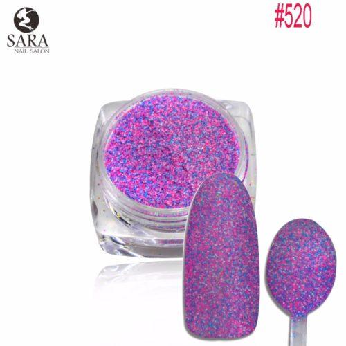 Меланж сахарок для дизайна ногтей 1.5 г