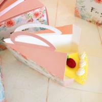 Набор коробок с ручками для 10 кусков торта