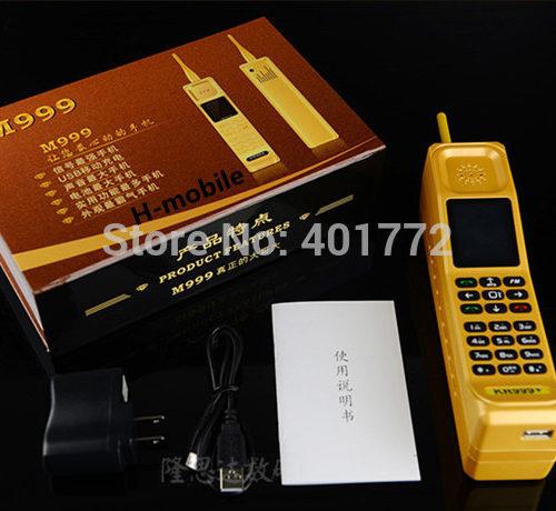 H-mobile большой мобильный телефон PowerBank M999 KR999, 2 Sim-карты, 16800 мАч