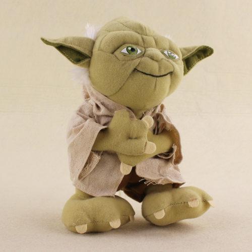 Плюшевая мягкая игрушка 20 см Йода из Звездных войн (Star Wars)