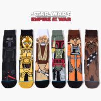 Мужские хлопковые носки Звездные войны (Star Wars)