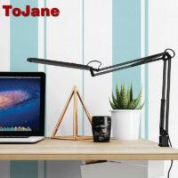 ToJane TG988 Настольная светодиодная гибкая лампа с тремя уровнями яркости и регулируемой температурой 3000- 6000 К