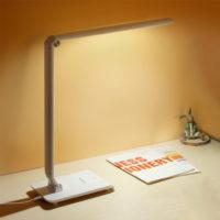 YAGE Настольная светодиодная гибкая лампа с тремя уровнями яркости и сенсорным управлением