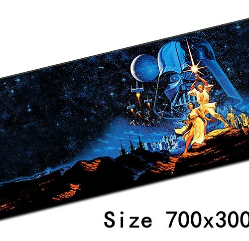 Игровой коврик для компьютерной мыши Звездные войны (Star Wars)