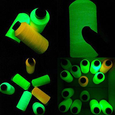 Нитки для вышивания светящиеся в темноте