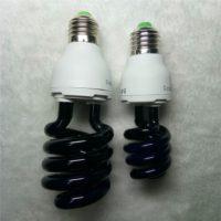 Ультрафиолетовая спиральная лампочка E27 220 В
