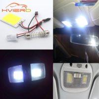 Светодиодная лампа для освещения салона автомобиля T10 24 SMD 12 В