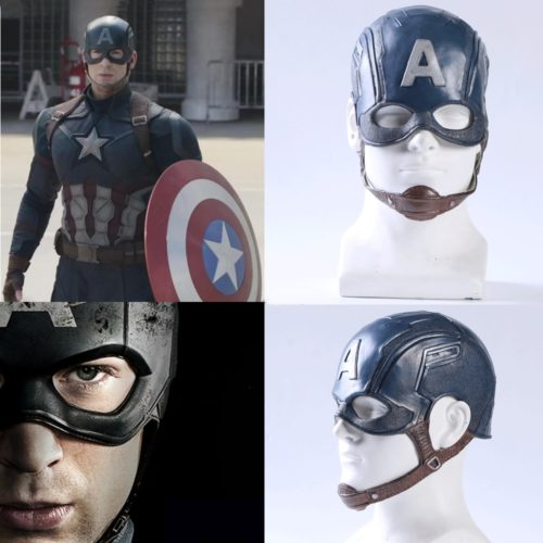 Шлем Капитана Америки на голову