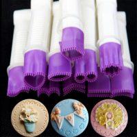 Набор резаков для создания кружевного края на мастике 10 шт.