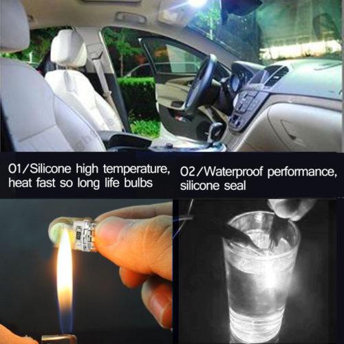 Светодиодные лампы для авто T10 LED W5W 6 шт.
