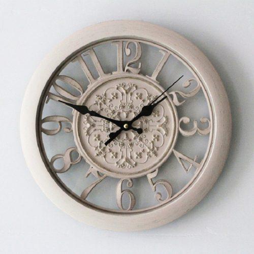 Настенные винтажные кварцевые ретро часы 28 см