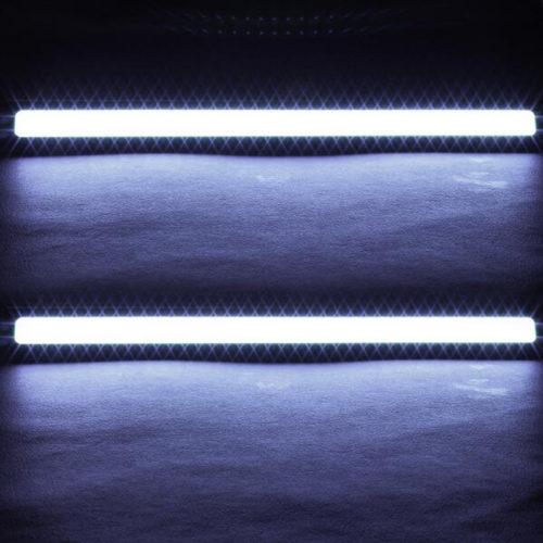 MOONBIFFY Водонепроницаемые дневные ходовые огни 12 В 17 см