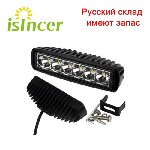 iSincer Противотуманная светодиодная фара 18 Вт 12 В