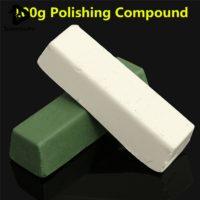Зеленая и белая полировальная паста ГОИ для металла