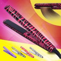 Мини-выпрямитель утюжок для волос с керамическими пластинами