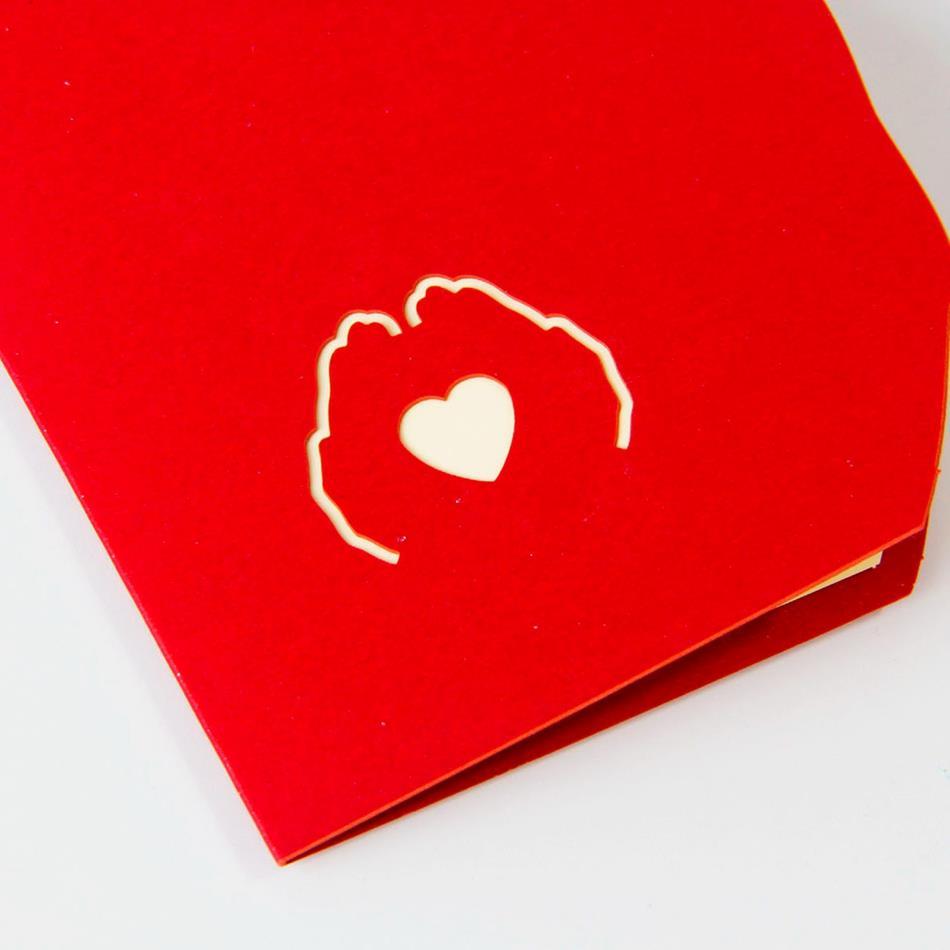 Объемные открытки в день святого валентина