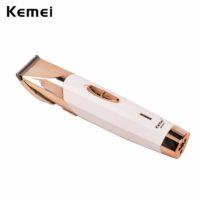 Kemei Аккумуляторный триммер машинка для стрижки бороды, волос