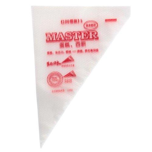 Одноразовые кондитерские мешки для крема 100 шт. 17×26 см