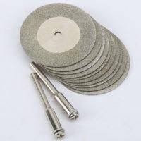 Отрезные полировальные круги для бормашин 10 шт. 35 мм.