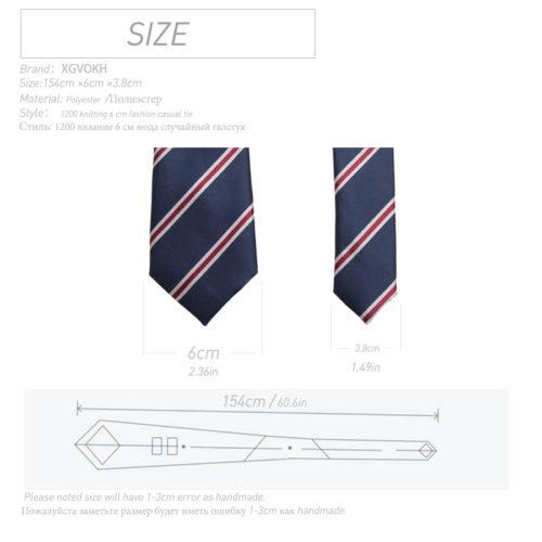 Мужской деловой или свадебный галстук из полиэстера с узором 6 см