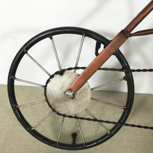 Настенные металлические винтажные кварцевые ретро часы в виде велосипеда