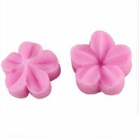 Силиконовые кондитерские вайнеры (оттиски) 2 шт. для мастики Цветок