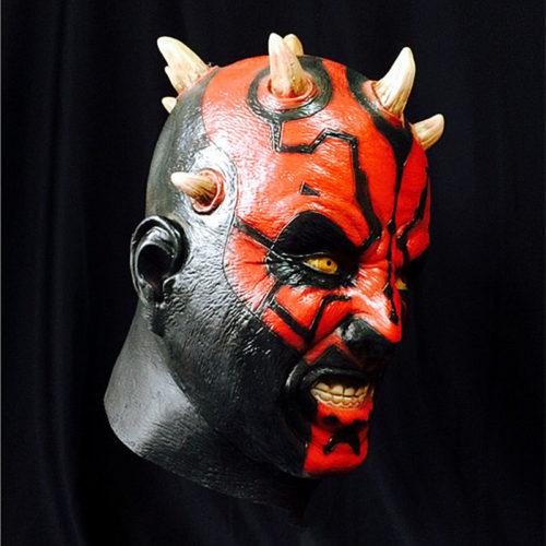 Латексная маска Дарта Мола для взрослых из Звездных войн (Star Wars)
