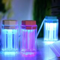Ультразвуковой арома диффузор увлажнитель воздуха со светодиодной подсветкой