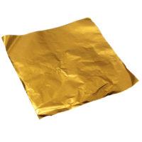 Цветная оберточная алюминиевая фольга для упаковки конфет 100 шт.