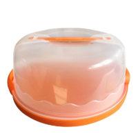 Многоразовый контейнер с крышкой для переноски торта